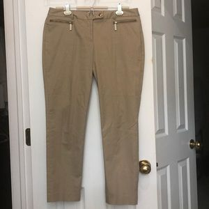 Michael Kors Cropped khaki pants